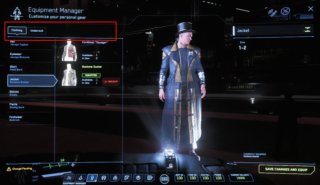 Star Citizen Character Slots